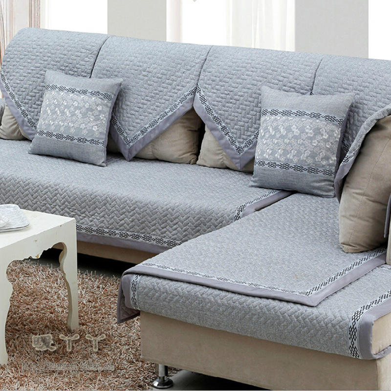 Sectional Modern sofa UK Style Yellow Gray Couch Covers