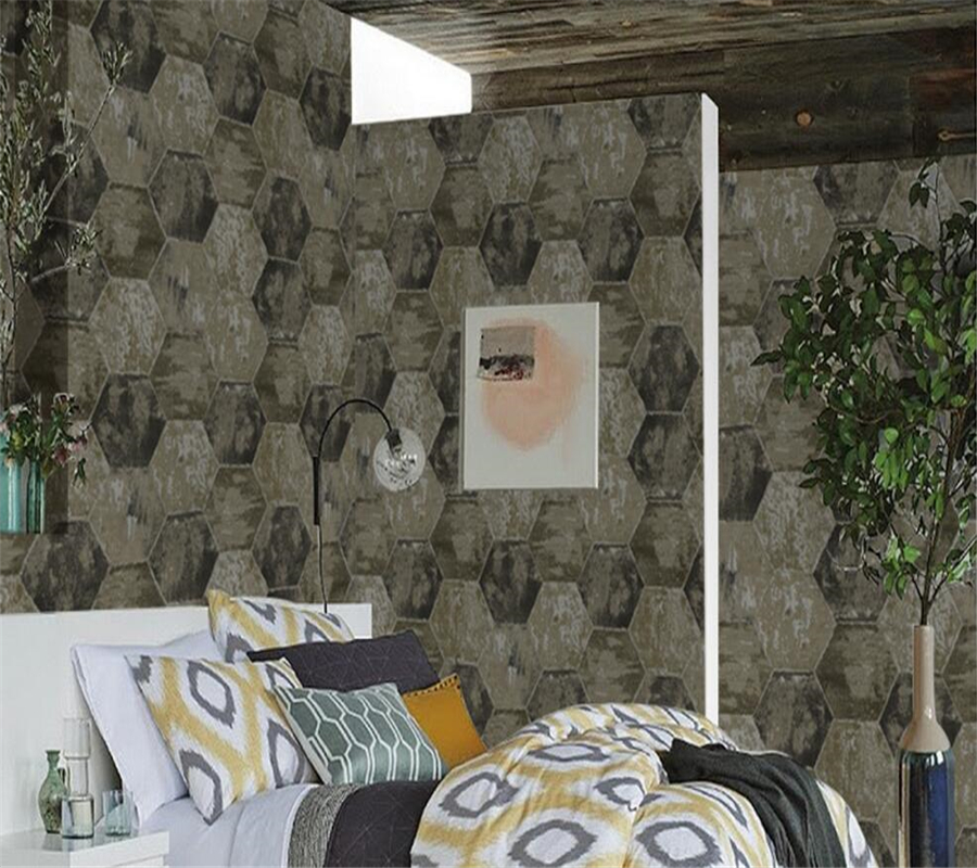 Beibehang Европейский стиль простой ретро цемент серые обои Гостиная кофе магазин ТВ Фон wall engineering 3d обои