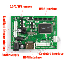 HDMI 30 Pins LVDS Controller Board Module Monitor Kit for Raspberry PI 3 LCD LED Screen Display Panel TFT LCD