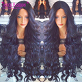 8A Quality Body Wave Full Lace Human Hair Wigs Virgin Brazilian 180 Density Full Lace Wig Unprocessed Glueless Front Lace Wigs