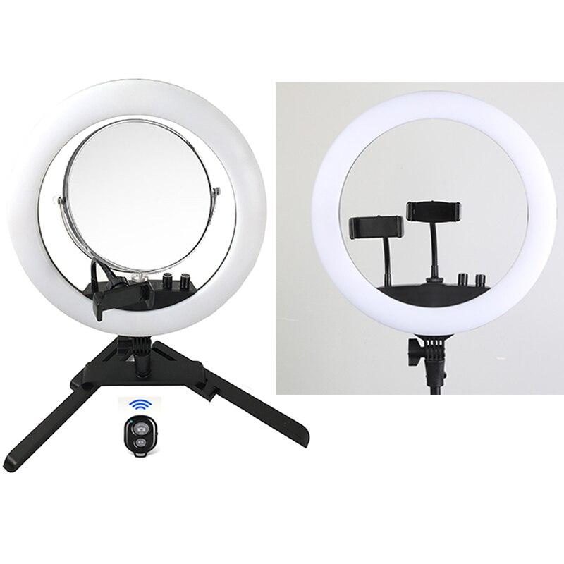 Photo Studio lumière annulaire avec Miroir 14