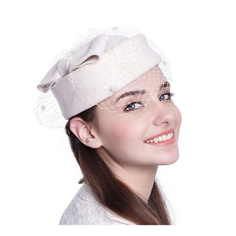 fec32742c5c5a 2019 Bere Fashion French Hat Beret White Khaki Wine Red Women Cute  Australia Wool Berets With Mesh Quality Boinas Cap TS017001-in Berets from  Apparel ...