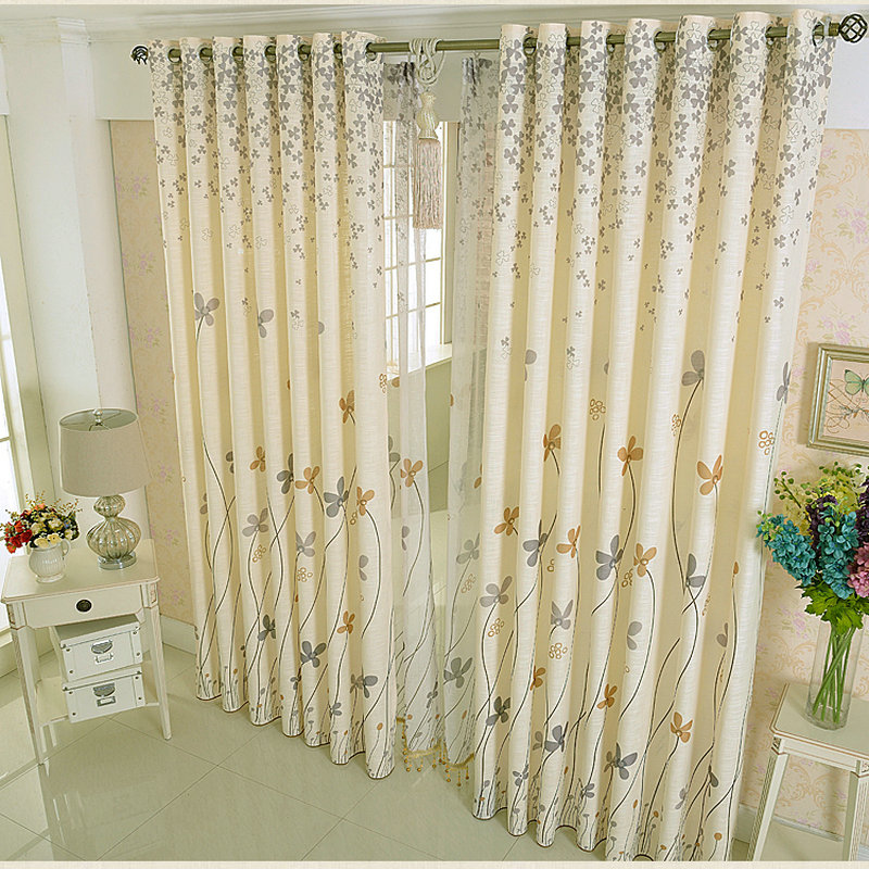 US $11.06 40% OFF|Summer White Linen Curtains For living room / kitchen  Room Curtain Simple Rustic Eco friendly Natural Healthy Free shipping-in ...