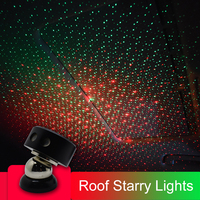CNSUNNYLIGHT Car USB LED Atmosphere Ambient Star Light DJ Mixed Colorful Music Sound Voice Control Lamp Remote Spotlight