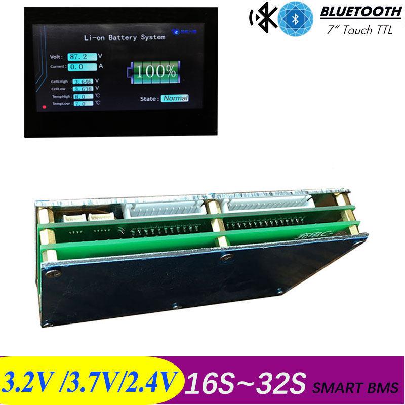 BMS 14S 30A/40A/60A アクティブ bms 48 12v 新リチウムイオンスマート bms pcm アンドロイド Bluetooth  アプリ UART bms wi ソフトウェア (アプリ) モニター