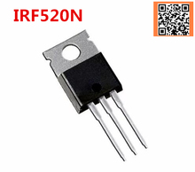1PCS IRF520 TO 220 IRF520N TO220 IRF520NPBF good quality
