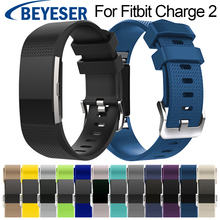 Bracelet Band for Fitbit Charge 2 Watch Silicon Strap Charge2 Sport Replacement Watchband 2018 New Arrival