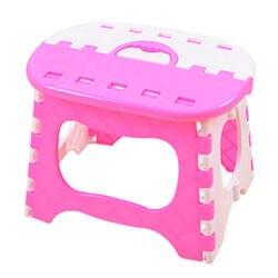 Оптовая продажа пластмассовый складной стул 6 Тип Сгущает Председатель Портативный мебель для дома ребенок удобных ужин табуреты розовый