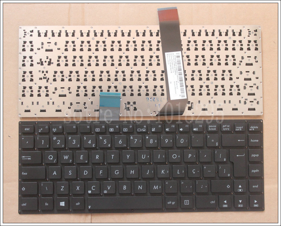 New BR Laptop <font><b>Keyboard</b></font> for <font><b>ASUS</b></font> K46 K46CA K46CB <font><b>K46CM</b></font> S46C S46CB S46CM S46CA Brazil Teclado <font><b>Keyboard</b></font> image