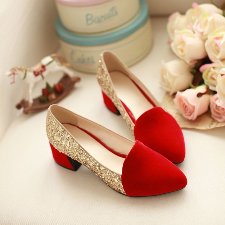 Popular Red Gold Shoes-Buy Cheap Red Gold Shoes lots from China ...