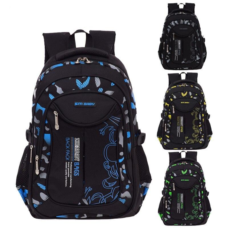 96b629c92f29 Непромокаемый рюкзак школьный для мужчин повседневный школьные ранцы для  мальчиков 1-3-6 класс ортопедический школьный рюкзак для детей