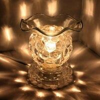 Fang xi pequena uva plug lâmpada escurecimento queimador de óleo lâmpada incenso forno com óleo essencial máquina aromaterapia