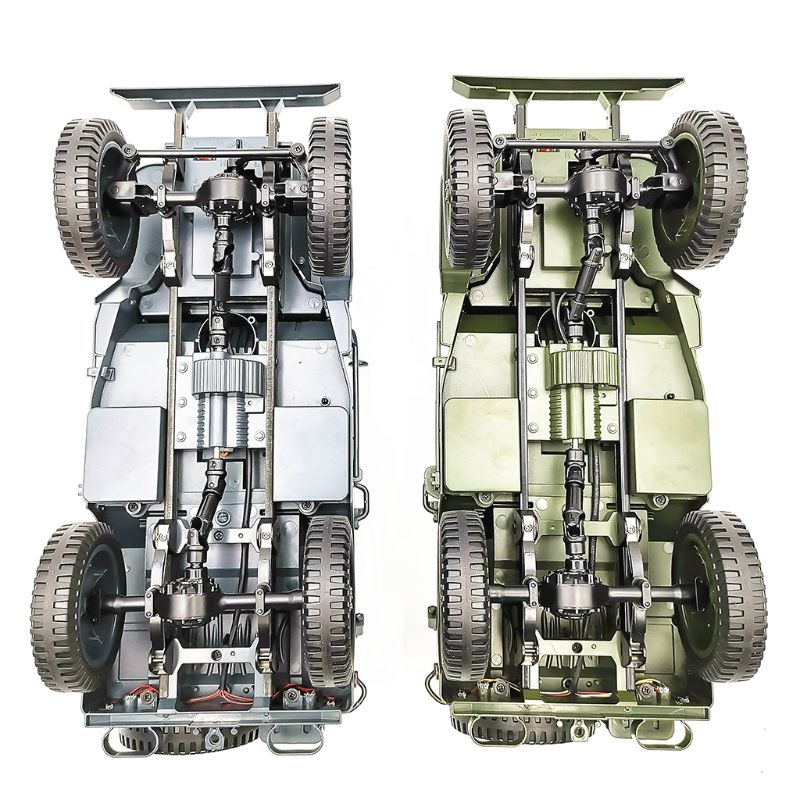 1:10 RC voiture Q65 C606 2.4G 4WD Convertible télécommande tout-terrain militaire escalade voiture jouet enfant cadeau lumière Jeep quatre roues motrices