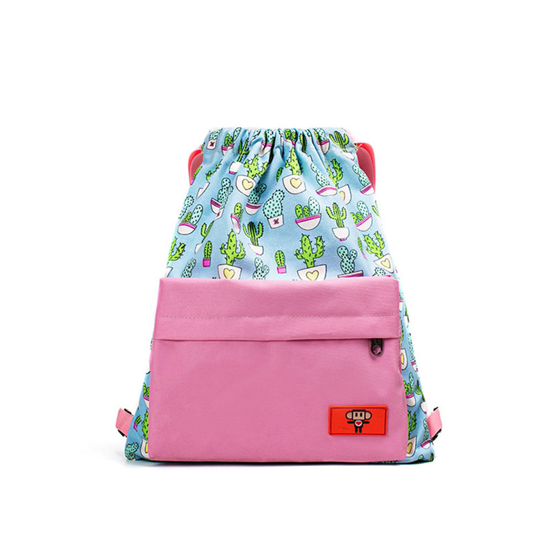 Women Teenage Girl Boy Print Zipper Backpack School Bags Fashion Canvas Shoulder Bag High Quality Rucksacks Mochila A7
