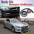 Bumper Lip Lábios Para Mercedes Benz SLK R170 R171 R172/Top Loja de artes Spoiler Para Carro Tuning/TOPGEAR Recomendar Body Kit + tira