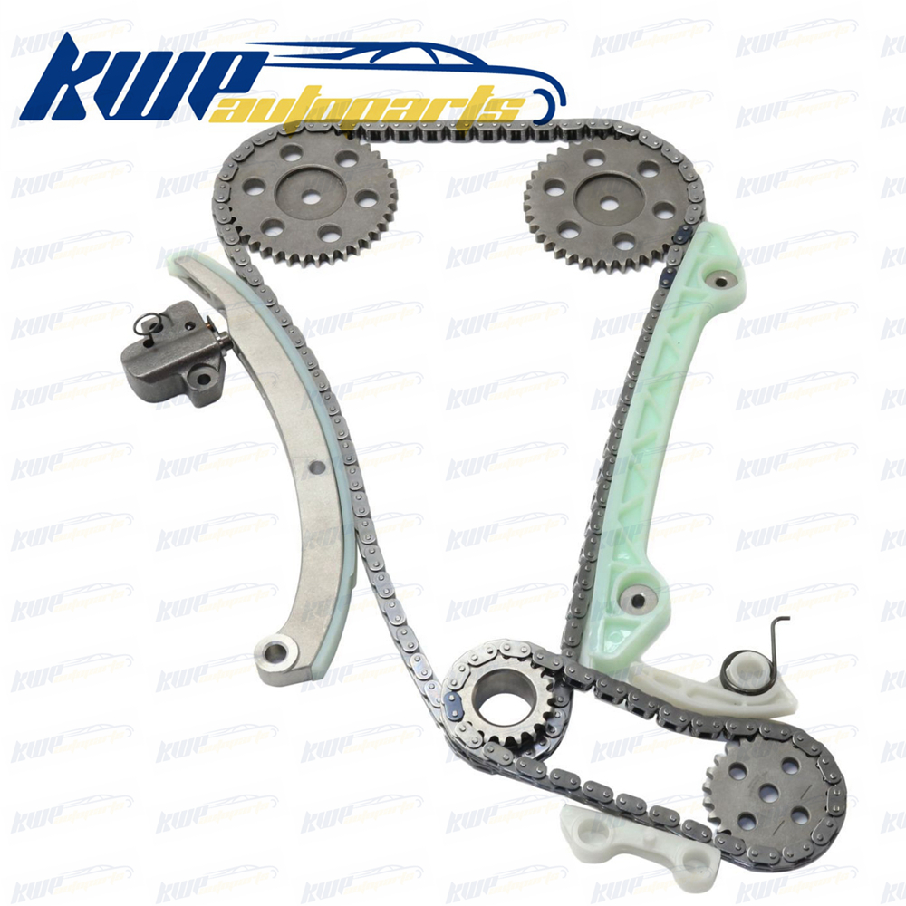 Timing Chain Kit For 04-13 Ford Focus Transit Connect Mazda 3 2.0L DOHC Duratec ветровики skyline mazda 3 wag 04