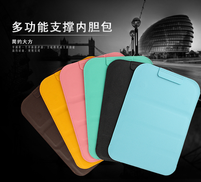 Sd Universal Tablet Bag Sleeve Stand Case Luxury Pu Leather Protective Cover For Lenovo P8 Tab
