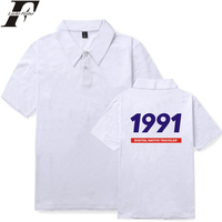 d39f29e07be5 LUCKYFRIDAYF 2018 BAEK HYUN Polo Shirt EXO Kpop hit hop Polo Shirts Summer  Casual cotton Short