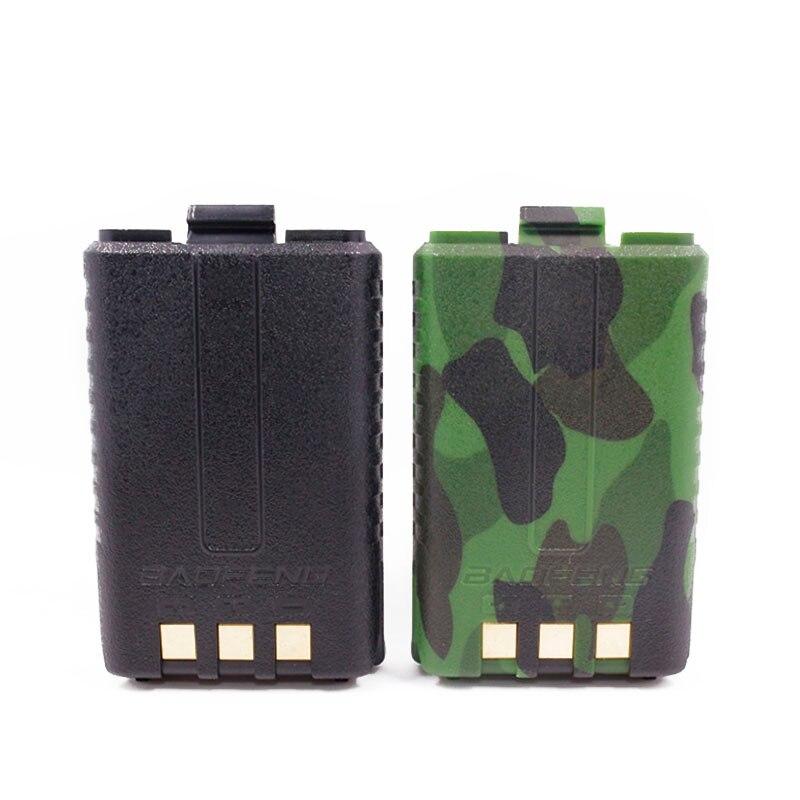 D'origine BAOFENG UV-5R BL-5 7.4 v 1800 mah Li-ion Batterie Pour Baofeng Talkie Walkie UV-5R UV-5RE Series Two Way Radio (noir/Camo)