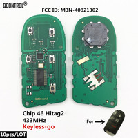 QCONTROL Car Remote Key Fob Circuit Board for DODGE/Chrysler/JEEP 300 Charger Journey Challenger Durango M3N 40821302