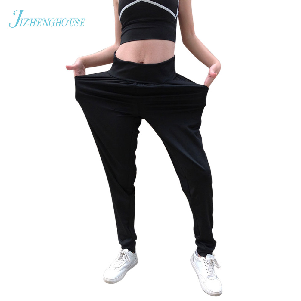 JIZHENGHOUSE Leggings For Women Loose Trousers Fitness Leggins Sporting Leggings Dance Capris