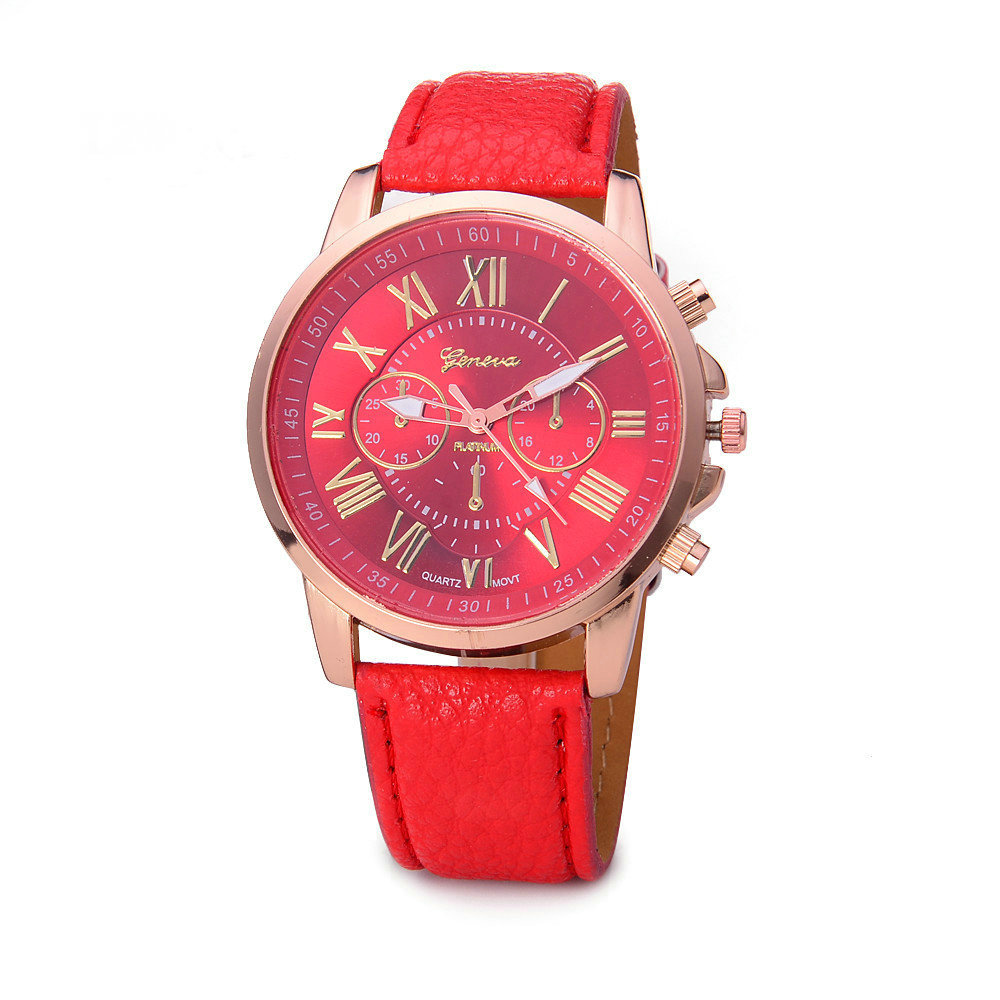 Quartz Watches Womage Brand Fashion Business Quartz Men Sport Watch Luxury Brand Military Men Synthetic Leather Strap Army Wrist Watches Clock Packing Of Nominated Brand Men's Watches