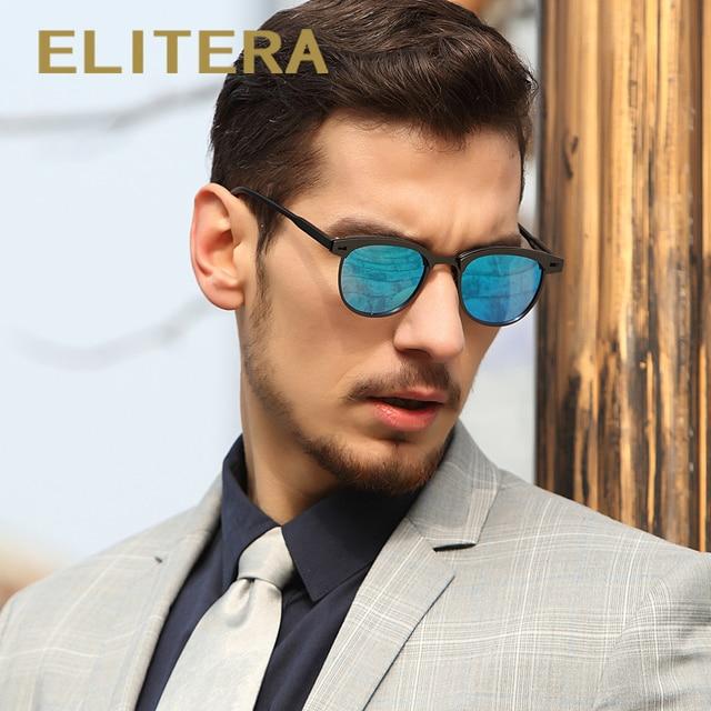 e31e943e3aebc ELITERA New Arrival Classic Brand Men Women Sunglasses HD Polarized UV400  Mirror Male Sun Glasses For Men
