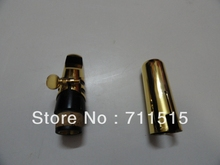 Wholesale -B the clarinet mouthpiece metal surface plating gold size .5.6.7.8.9
