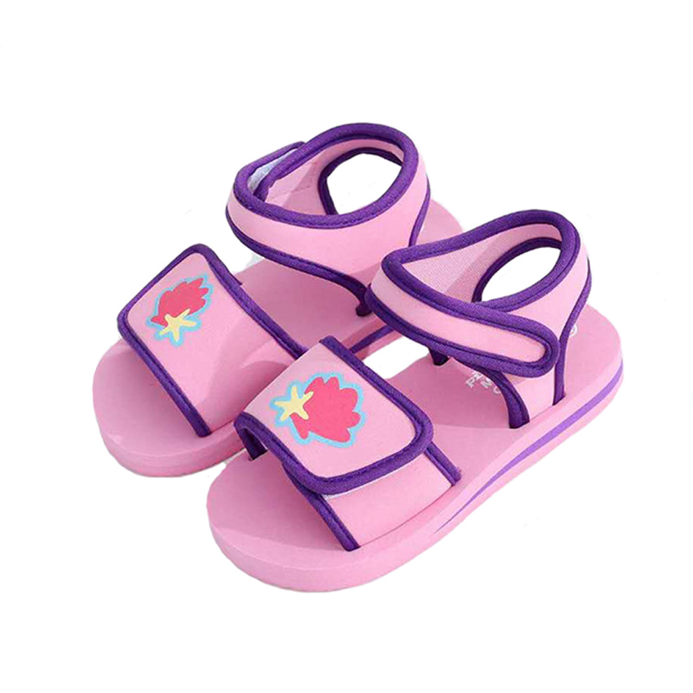 Baby Girls Shoes Casual Flat Sandal For Girl Toddler Kids Leisure Soft Sandal Funny Shoes Beach Sandals Promotion Dropshipping