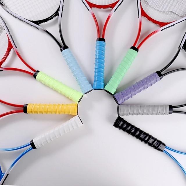 PU Tennis Non-Slip Tennis Racket Supplies Sweat-Absorbent Belt Badminton Grip Sweat-Absorbent With Tennis Accessories 3