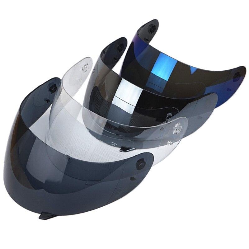 1 Peças completa protetor facial para AGV K3 K4 Motocicleta capacete viseira anti-risco óculos de substituição para k3 k4 capacete Matizado lente