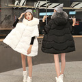Women's Down Parkas Maternity fashion maternity clothing Pregnant Down Coat Fur Collar Pregnancy Cloak Down Overcoat Outerwear