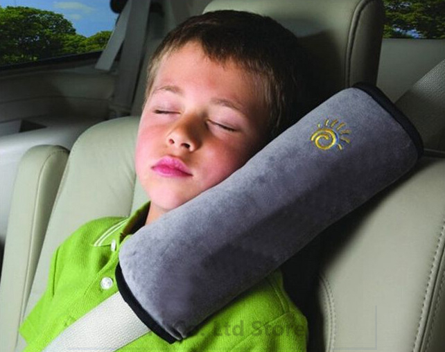 2 Pieces Hot New car-styling Baby Car Auto Safety Belt Shoulder Pad Cover Children Protection Seat Belt Cover Support Pillow