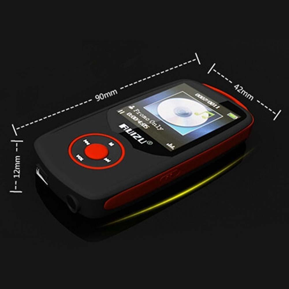 RUIZU X06 Bluetooth MP3 Player 4GB Bluetooth 4.0 Sport High Quality Lossless Music Player Recorder FM Radio