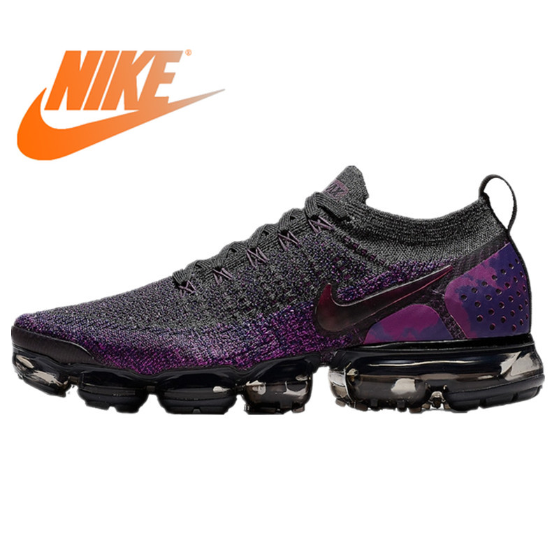 Original Authentic Nike Air VaporMax Men's Running Shoes Outdoor Sports Shoes Fashion Comfortable 2019 New 942842-013