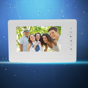 "Image 3 - 7 ""TFT LCD צבע מסך וידאו וידאו דלת בל אינטרקום מערכת מקורה צג יחידה עם 25 צלצול עבור בית דירה בטוח V70F"