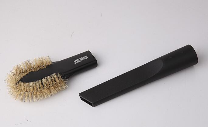 Vacuum Cleaner Parts computer or corner  spider brush with nozzle 32mm diameter compatible with all kinds of vacuum cleaner accessories brush 2in1 nozzle interface diameter 32mm small brush
