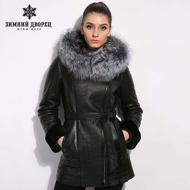 Aliexpress.com : Buy jacket women's winter Genuine Leather women ...