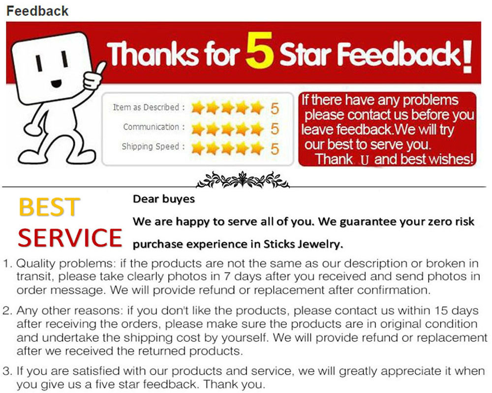 Five-star praise and after-sales service