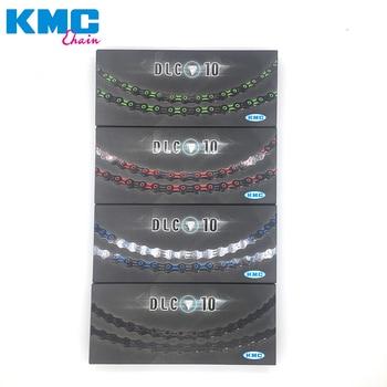 f9fa97fec30 KMC X10SL DLC X10 116 enlaces Original diamante como revestimiento de luz  Extra carrera cadenas 10 velocidad camino de MTB bicicleta cadena en Caja