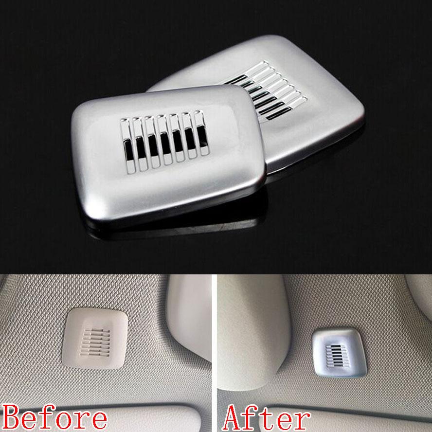 Atap Batin Doom Mikrofon Bingkai Sampul Potong ABS Dekorasi Berpayet - Aksesori interior mobil