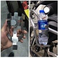 Crash BarWater Bottle For BMW R1200GS Adventure F700 F800GS Motorbike Guard Drinking Cup Bracket Holder Motorcycle Accessories
