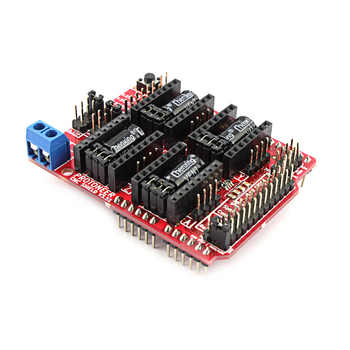 Elecrow CNC Shield V3.51 บอร์ดขยายสำหรับ Arduino 3D พิมพ์ใช้งานร่วมกับ PWM Spind บอร์ด CNC โครงการใช้ Pololu ไดรเวอร์