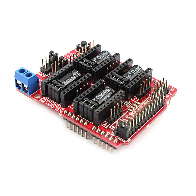 US $18 86 10% OFF|Elecrow CNC Shield V3 51 for Arduino GRBL v0 9 Compatible  with PWM Spind Board DIY CNC Projects Uses Pololu Drivers-in Electronic