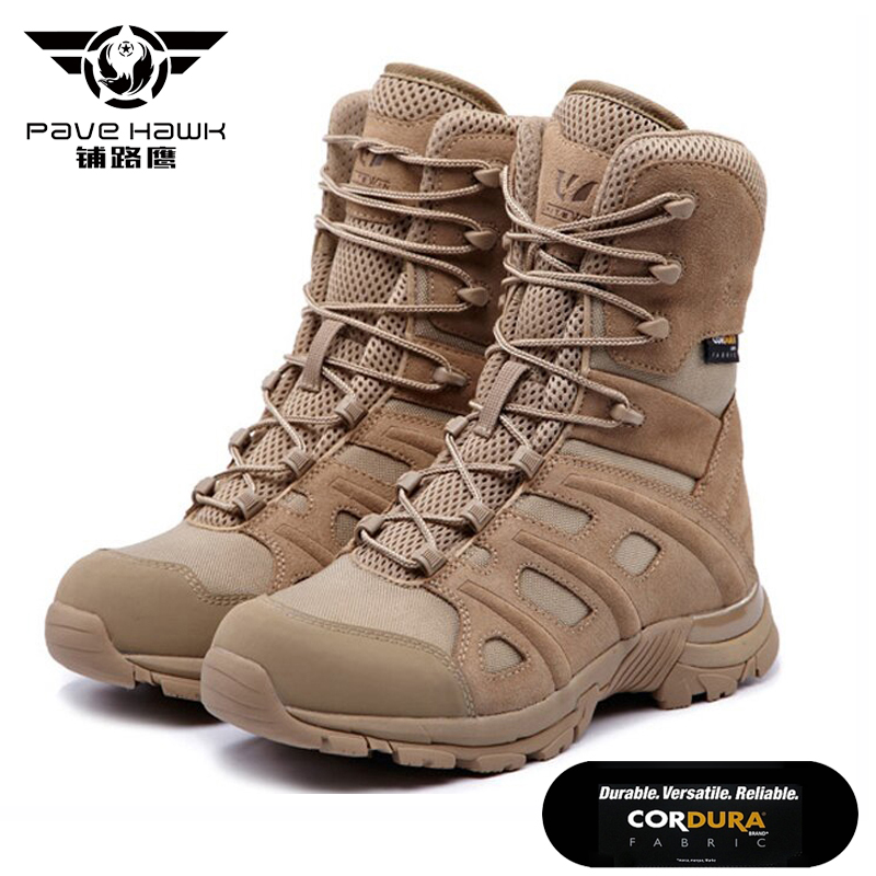 10cfb6708 New High Quality Men Military Boots Special Force Tactical Desert Combat  Ankle Botas Army Work Safety