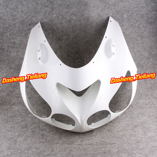 Upper Front Cover Cowl Nose Fairing for KAWASAKI 2006-2011 ZX14R, Injection Mold ABS Plastic, Unpainted injection mold unpainted upper front fairing cowl nose fits for suzuki 2006 2007 gsxr 600 750 k6 abs