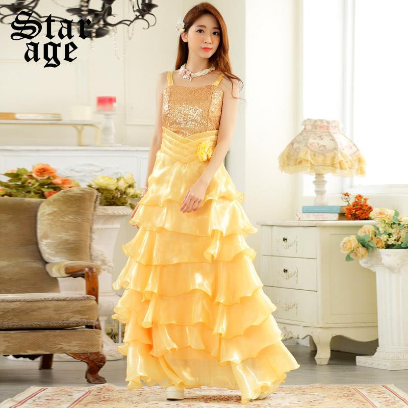 maxi dress long flamenco