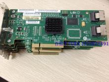 Оригинал ВС 371-3255 LSI SAS3081E-S PCI-E 8-портовый SAS RAID карты карты