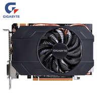 Carte graphique GIGABYTE GTX 960 2 GB GPU originale 128Bit GDDR5 carte graphique pour nVIDIA Geforce GTX960 2G PCI-E X16 Hdmi Dvi OC