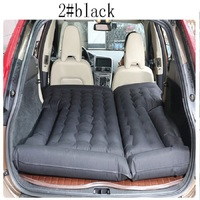 180 130cm Universal Car Travel Bed Cushion Seat Cover Air Travel Mattress Inflatable Bed Waterproof For